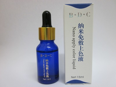 Nano Apply Color Liquid (纳米免敷上色液)